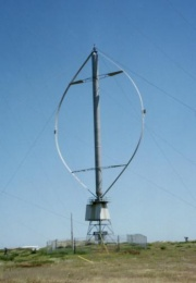 Darrieus wind turbine