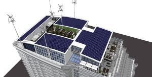 Hilton UGE wind turbine plan