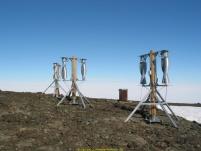 windside turbines in Antarctica